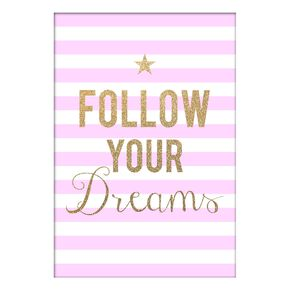 Toile Follow Your Dreams, , large