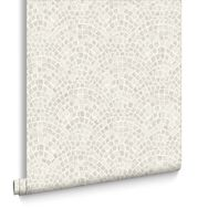 Trajan Tile Natural Wallpaper, , large