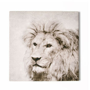 Roar Printed Canvas Wall Art, , large