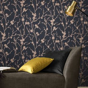 Meiying Charcoal Wallpaper, , large
