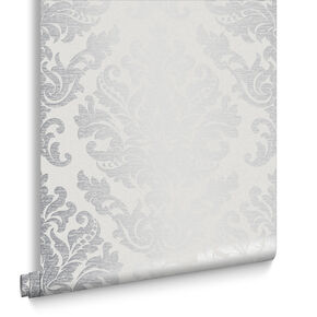 Antique Gris Wallpaper, , large