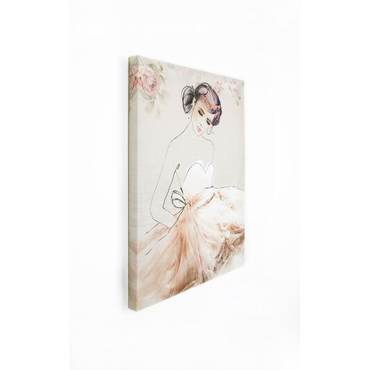 Grace bedrukt canvas, , large