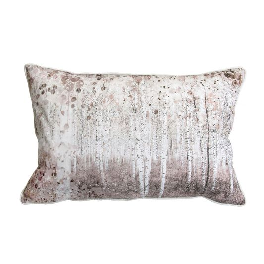 Watercolour Woodland Pillow , , large