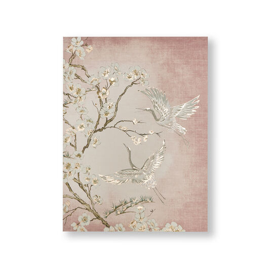 Graceful Cranes Canvas Wall Art, , large
