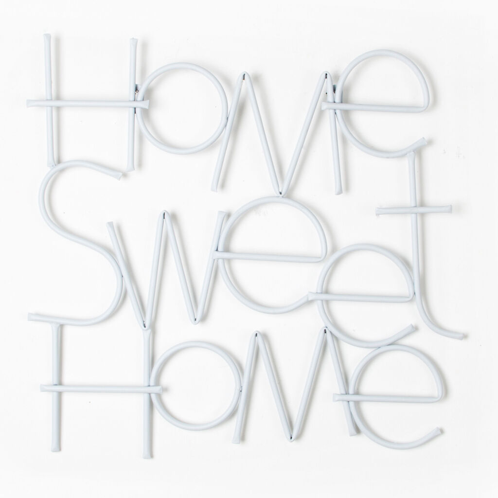 Sweet Home Metal Wall Art, , large