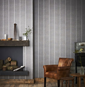 Prairie Charcoal Wallpaper , , large