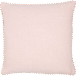 Posie Pink Pom Pom Cushion, , large
