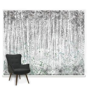 Fotobehang Couture Painterly Woods, , large