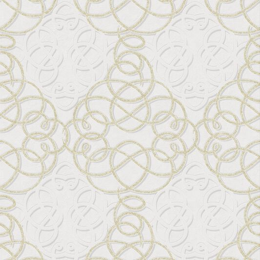 Ribbon Dance Ivory en Gold, , large