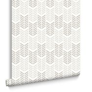Oiti Taupe/Clair Wallpaper, , large