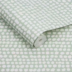 Dots Green Wallpaper, , large