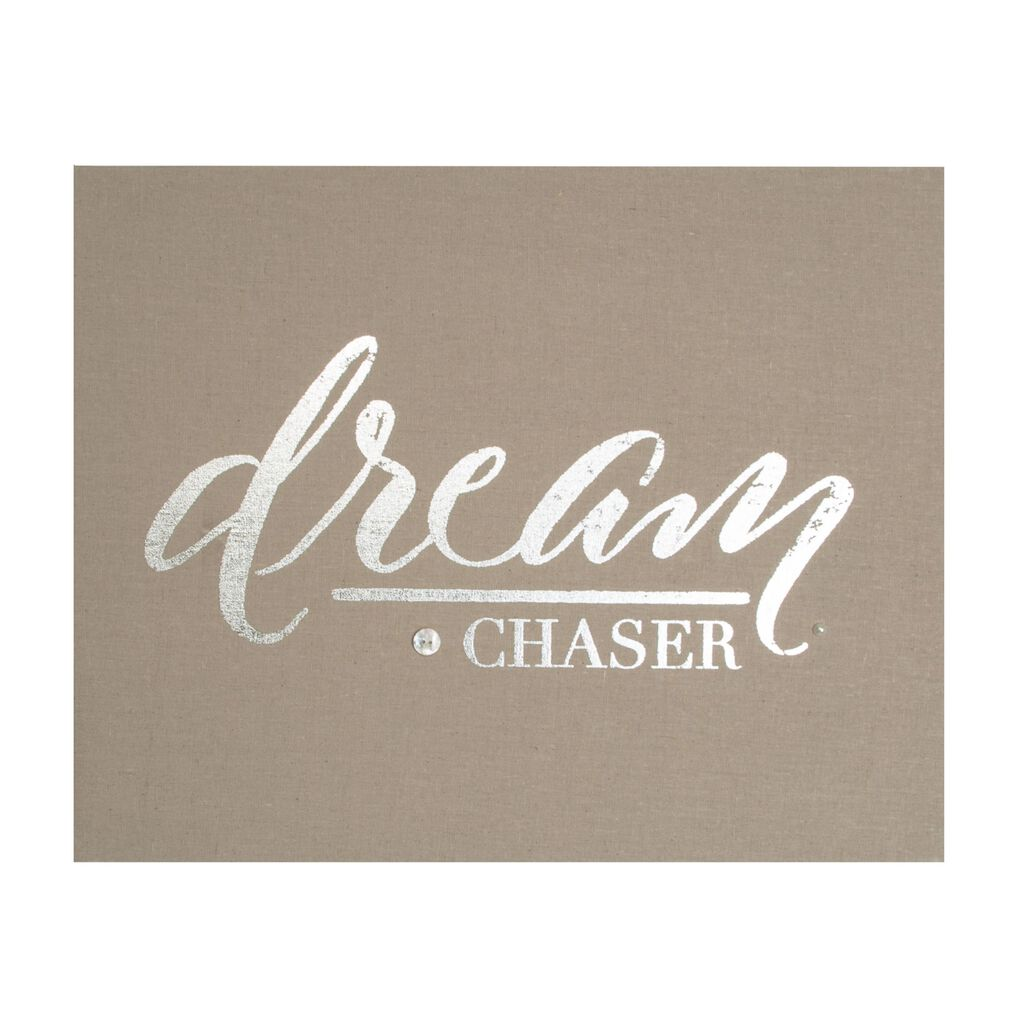 Dream Chaser Embellished Fabric Canvas, , large