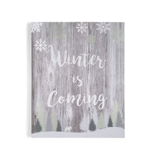 Winter is Coming Wall Art, , large
