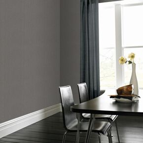 Textile Grey Wallpaper, , large