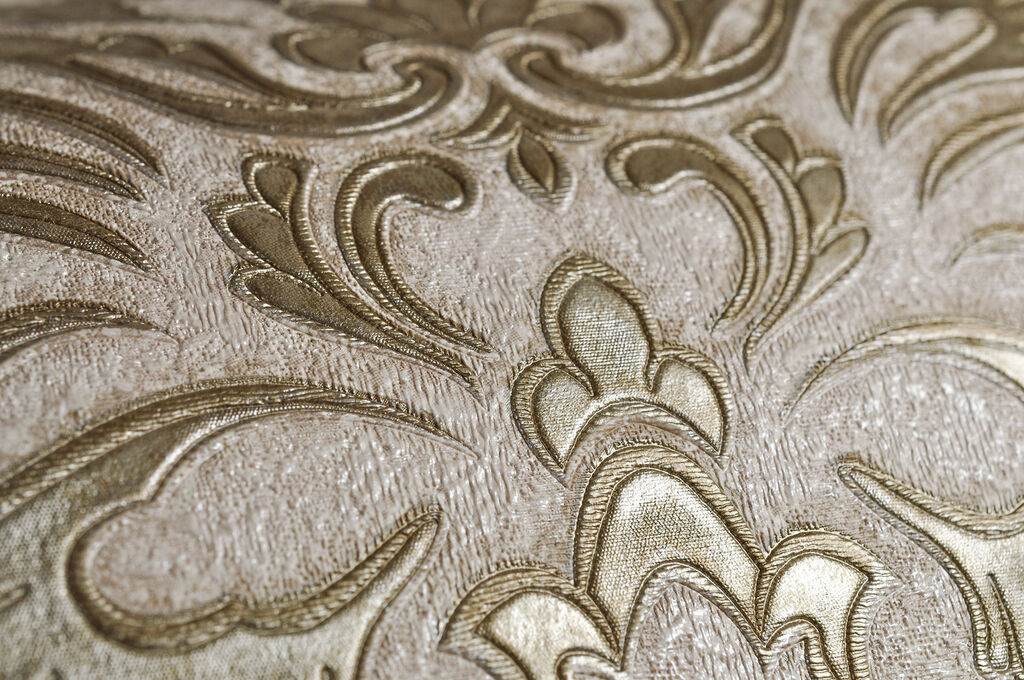 Dynasty Gold and Natural Wallpaper, , large