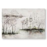 Watercolour Forest Printed Canvas Wall Art, , large