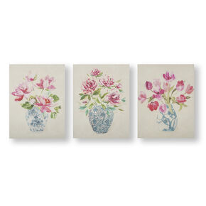 Floral Ginger Jars Wall Art, , large