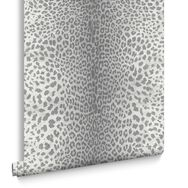 Leopard Grey Wallpaper, , large