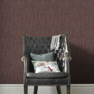 Grasscloth Burgundy & Copper Behang, , large