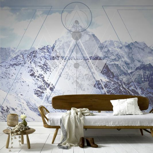 Couture Geoscape Ready Made Mural, , large