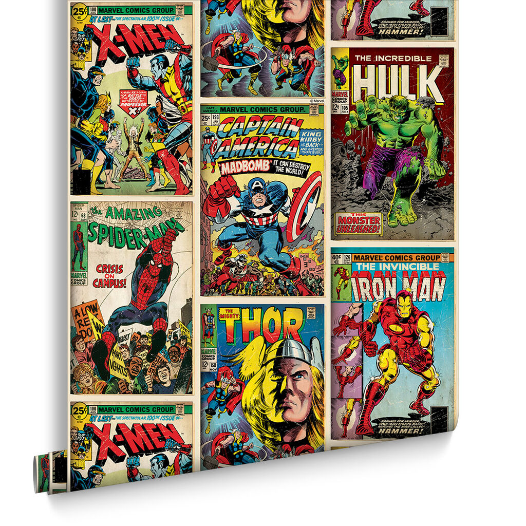 Marvel Action Heroes Multi Coloured Graham Brown