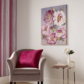 Chelsea Blooms Canvas Wall Art, , large