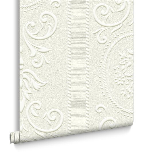 Cameo Stripe Wallpaper, , large