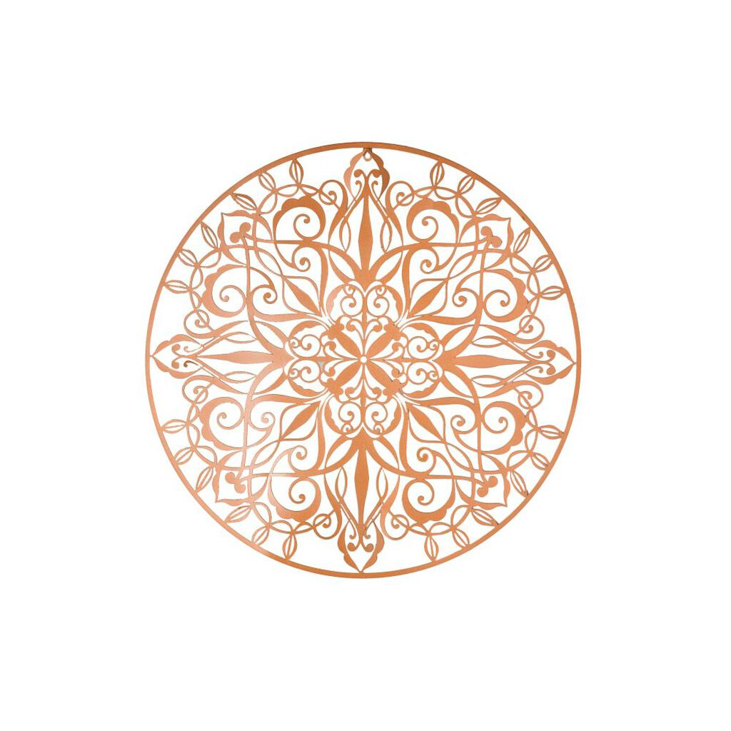 Copper Luxe Metal Wall Art, , large