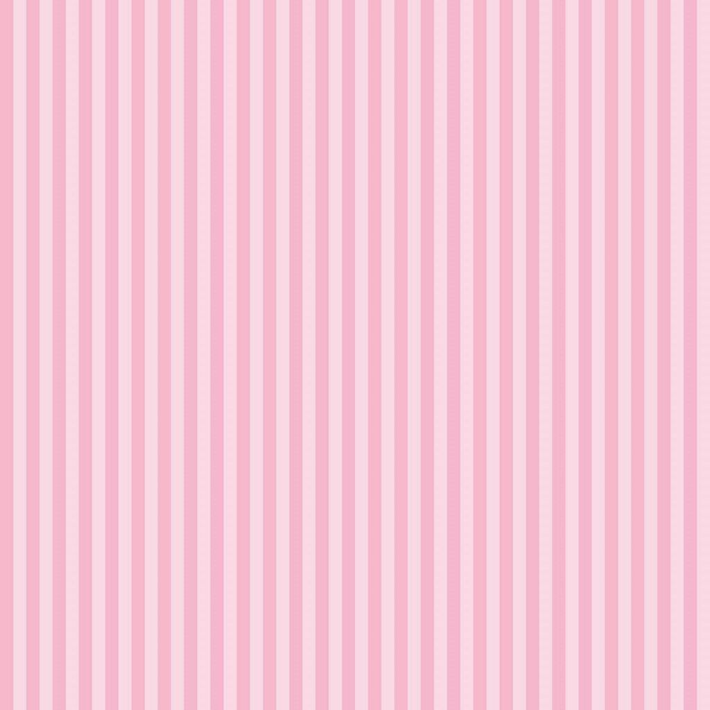 Classic Stripe Blossom Behang, , large