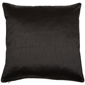 Midnight Black Lavish Cushion, , large