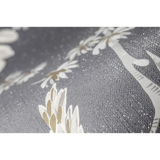 Singapore Dusky Grey Wallpaper, , large
