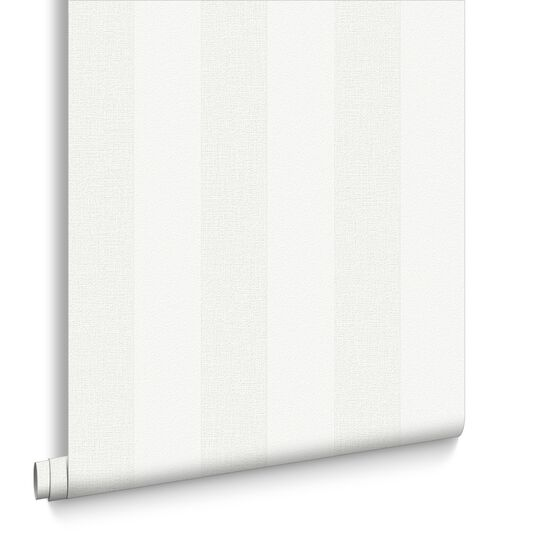 Stripe White Wallpaper, , large
