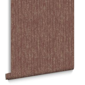 Devore Burgundy Behang, , large