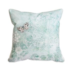 Duck Egg Meadow Cushion, , large