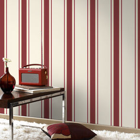 Orla Red and Gold Wallpaper, , large