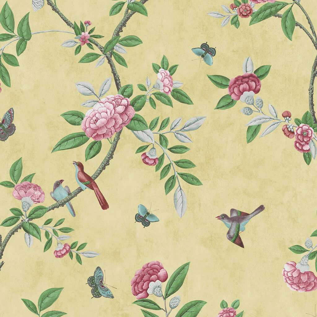 Previous Chinoiserie Imperial Yellow Wallpaper Large
