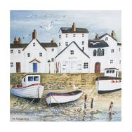 Harbourside Printed Canvas Wall Art, , large