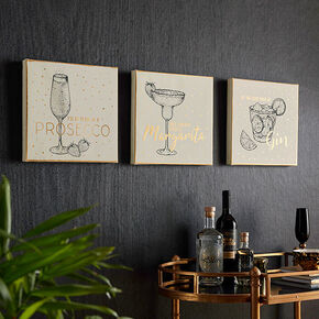 Drinks Collection Wall Art, , large