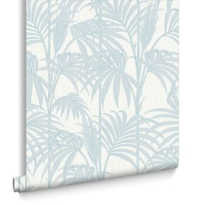Honolulu Duck Egg Wallpaper, , large