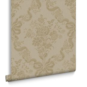 Glimmerous Tapete Taupe, , large