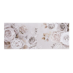 Mixed Media Rose Trail Printed Canvas Wall Art, , large