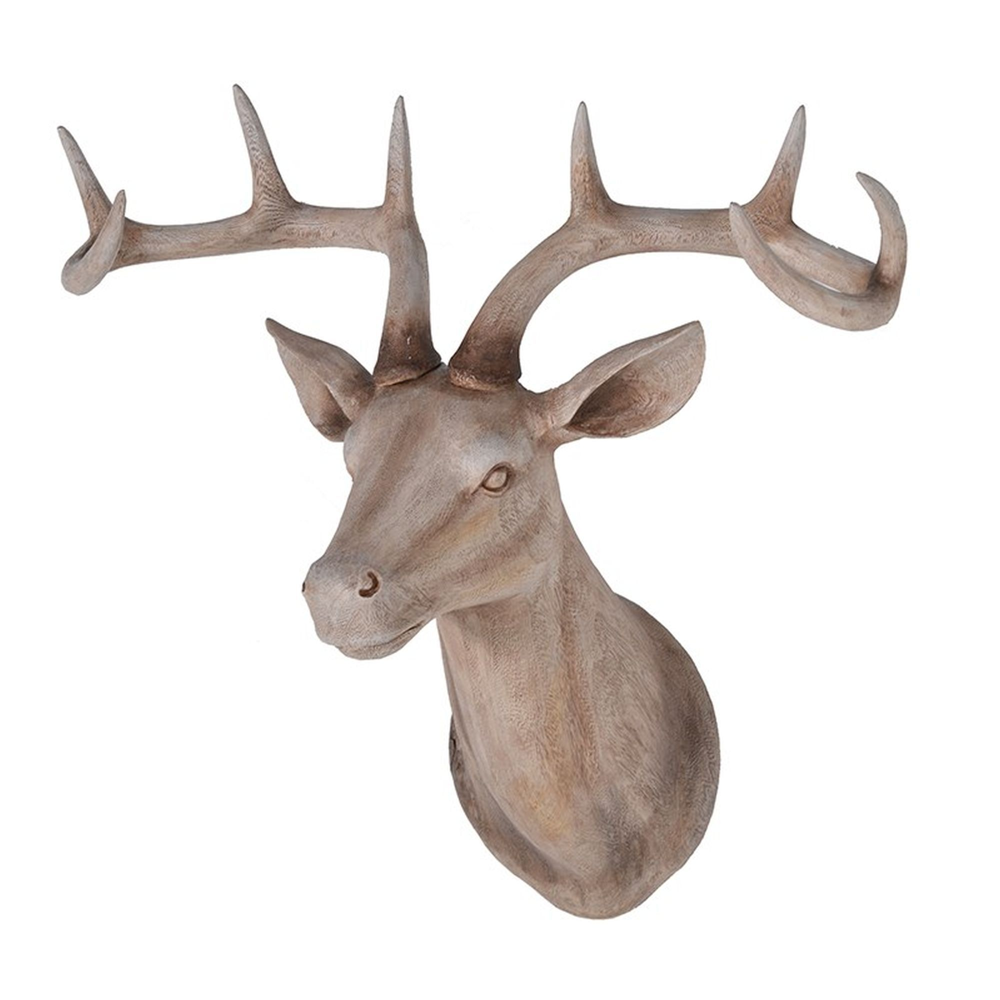 sc 1 st  Graham u0026 Brown & Large Wood Effect Stags Head - GrahamBrownAU