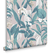 Botanical Dusk Wallpaper, , large