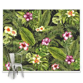 Fotobehang Couture Jungle Flora, , large