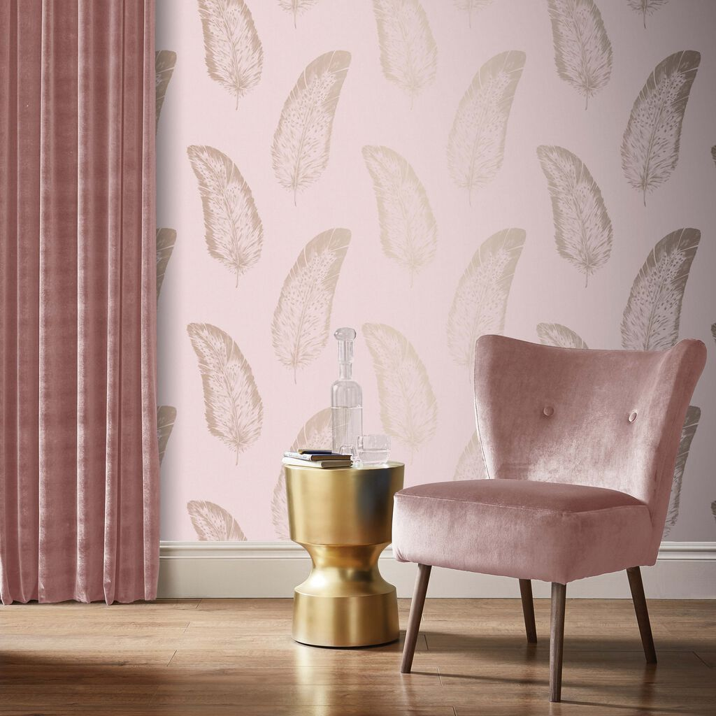 Volare Flamingo Wallpaper, , large