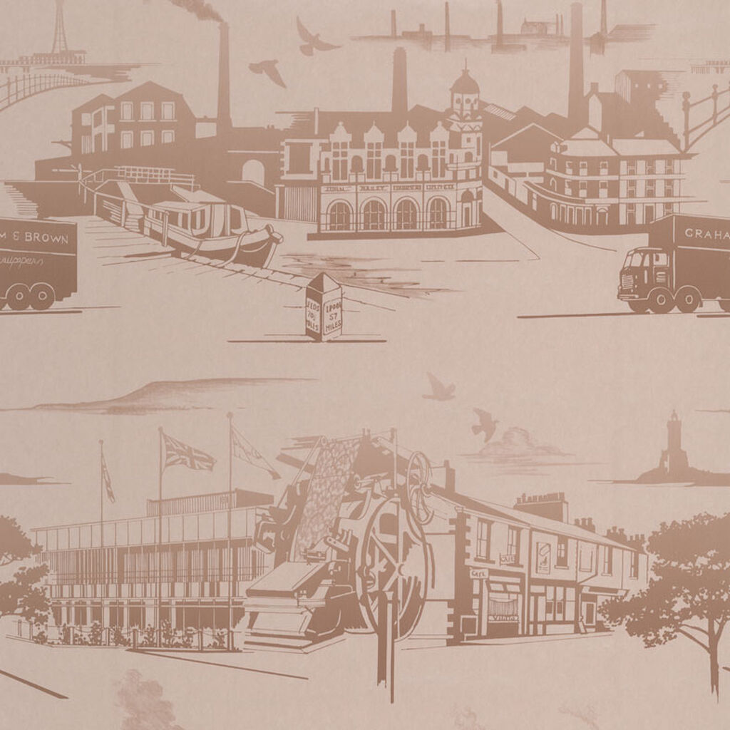 Papier Peint Northern Toile Or, , large