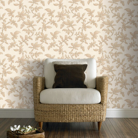 Sarra Gold Wallpaper, , large