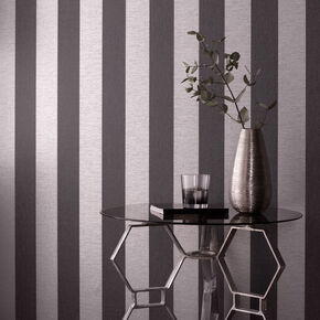 Ariadne Black and Gray Wallpaper , , large