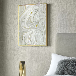 Marble Luxe Framed Wall Art, , large