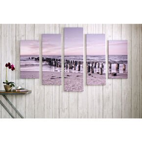 Tranquil Seascape Printed Canvas Wall Art , , large